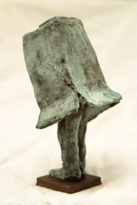 Self Portait in Bronze Patina